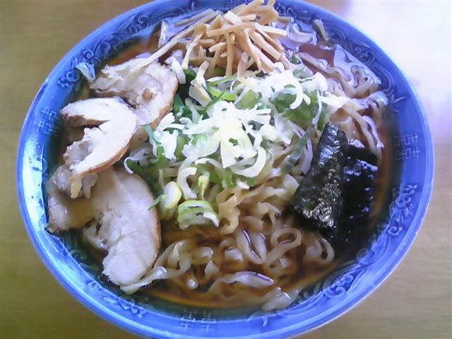 満び「中華あっさり太麺」鶴岡市