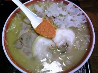 ラーメン渓流「味噌チャーシュー大盛」笹谷