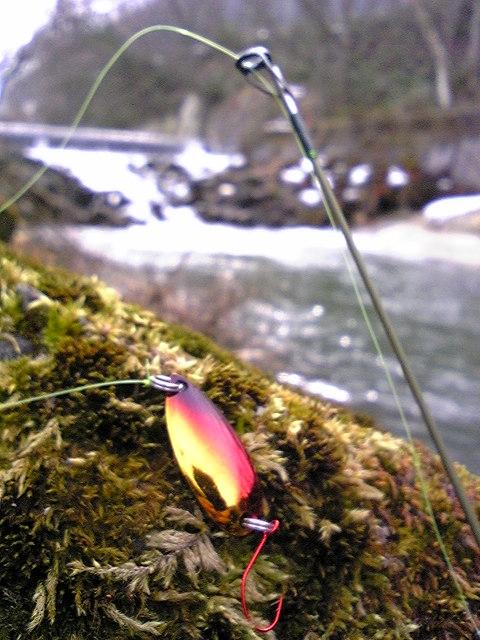 渓流の季節