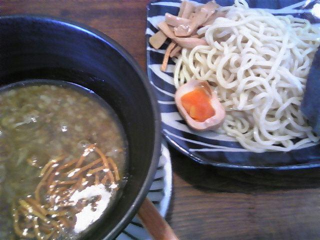 拉麺二段「二段つけめん」長井市