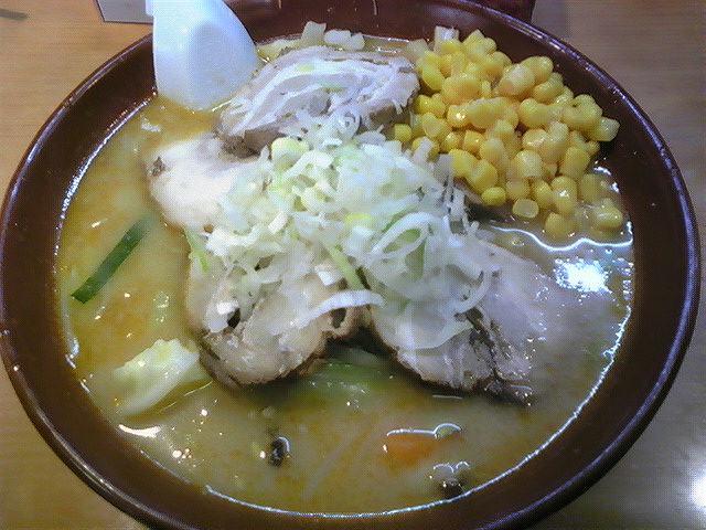 ピーコック「特味噌チャーシューラーメン」東松島市