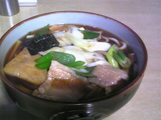 笹川食堂「肉うどん中盛り」羽黒