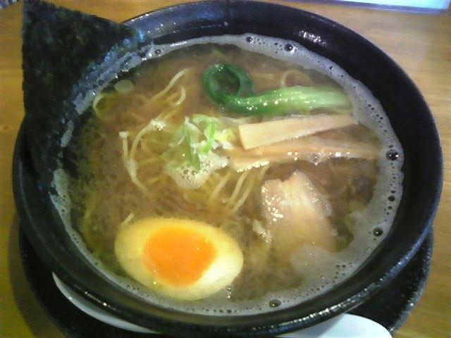 麺魂「中華そばあっさり」名取市
