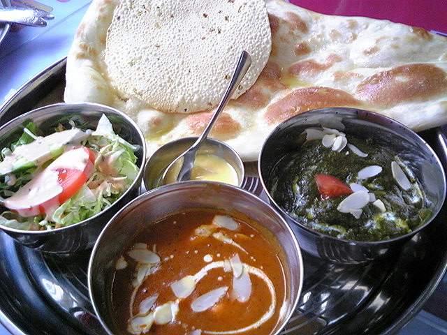 スパイスマジックインディアンレストラン「ノンベジタリアンセット」山形市西バイ