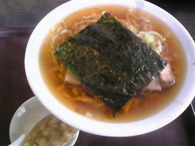 麺屋酒田「ラーメン」酒田市