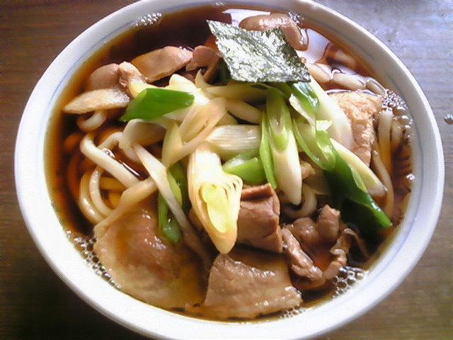 笹川食堂「肉うどん大盛」旧羽黒町