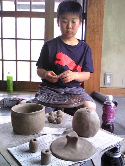 陶芸への道…