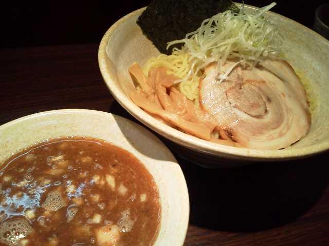 らー麺山之助「つけ麺大盛」山形市