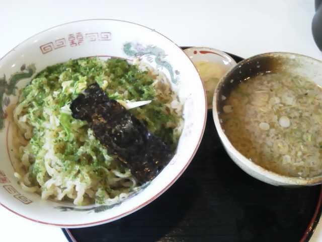 鈴木そば「つけ麺」鶴岡