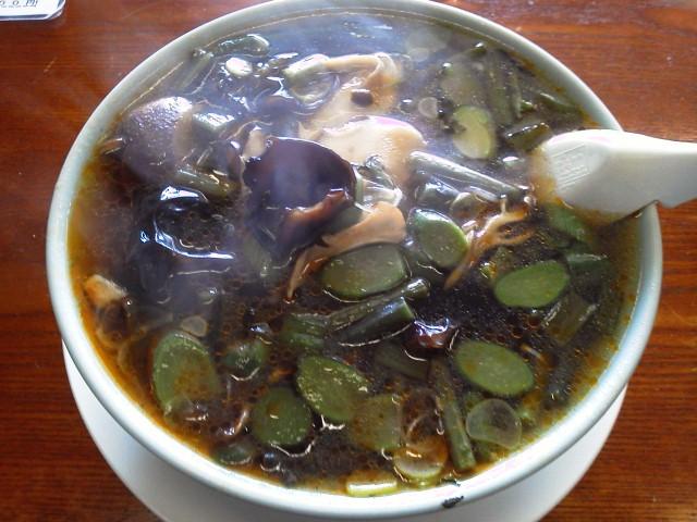 『飯豊がまの湯』山麓「山菜チャンポン」飯豊町