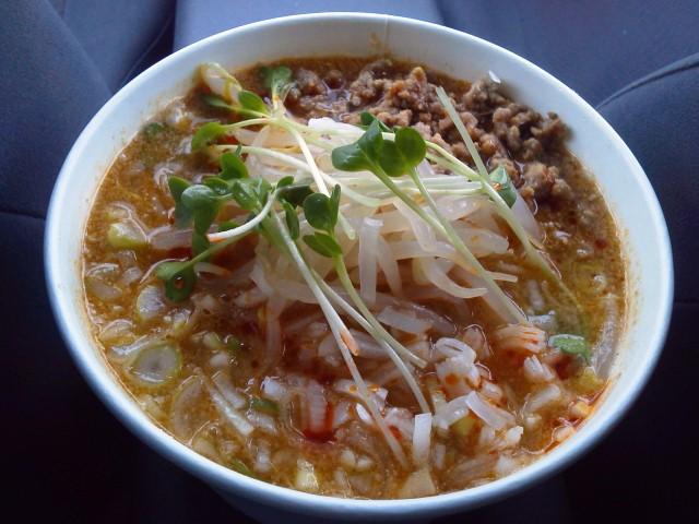 いばらぎ「酢拉担々麺」天童or<br />  東根