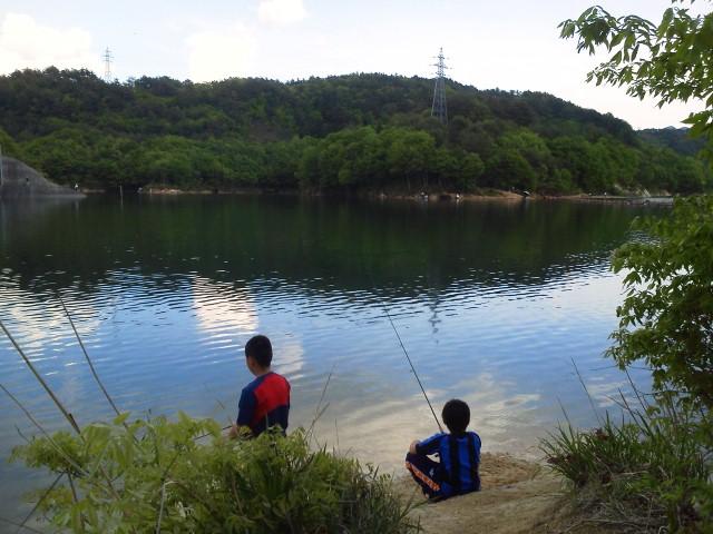 前川ダム彼らのいいステージです。